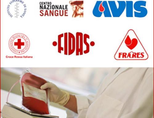 EMERGENZA TERREMOTO – comunicato del Centro Nazionale Sangue