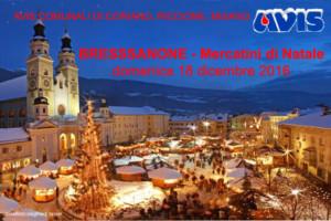 Mercatini di Natale - Bressanone (Avis Coriano - Riccione - Misano) @ Bressanone   Bressanone   Trentino-Alto Adige   Italia
