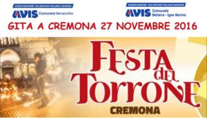 Festa del Torrone - Cremona 27 novembre 2016 @ Cremona   Cremona   Lombardia   Italia