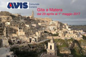 Gita a Matera - Avis Comunale Coriano @ Matera | Matera | Basilicata | Italia