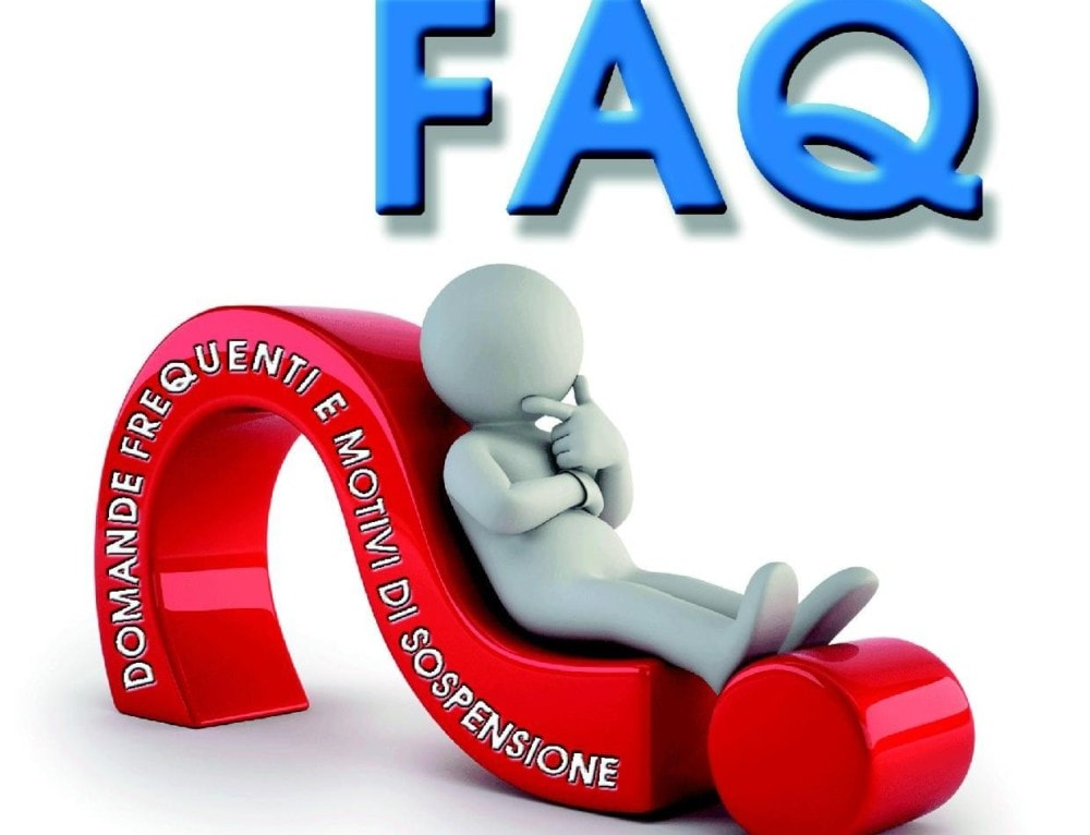 FAQ Domande Frequenti e Motivi di Sospensione