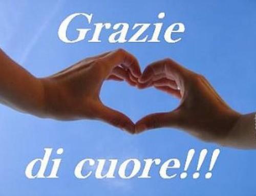 GRAZIE a tutti i DONATORI della Provincia di Rimini!