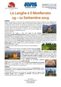 Le Langhe e il Monferrato - Viaggio Avis Comunale Rimini @ Le Langhe e il Monferrato